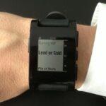 Testbericht: Pebble E-Paper Smartwatch für iOS und Android