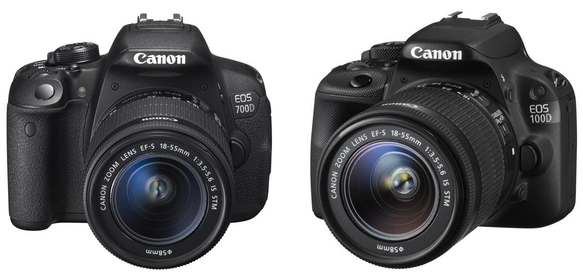 Canon EOS 100D und 700D