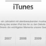 10 Jahre iTunes Music Store – Timeline der Erfolgsgeschichte