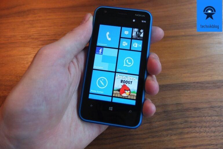 Nokia Lumia 620 Testbericht