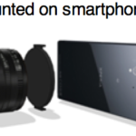 Sony Aufsteck-Kamera für Smartphones