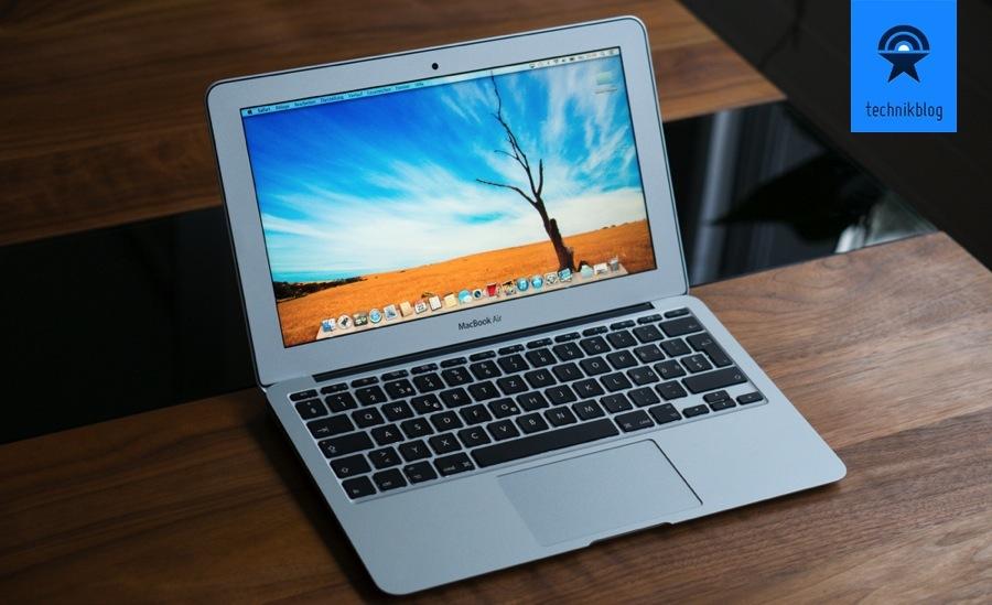 Testbericht MacBook Air 11 (Mid 2013) -001