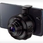 Sony DSC-QX10 und DSC-QX100: Aufsteck-Kameras für Smartphones