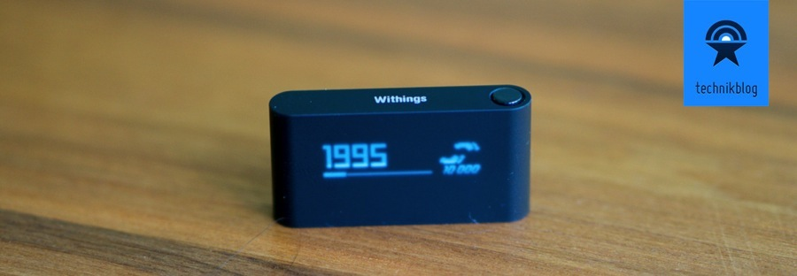 Withings Pulse - ausführliches Display