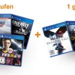 PlayStation 4: 2 Games vorbestellen und 1 gratis erhalten