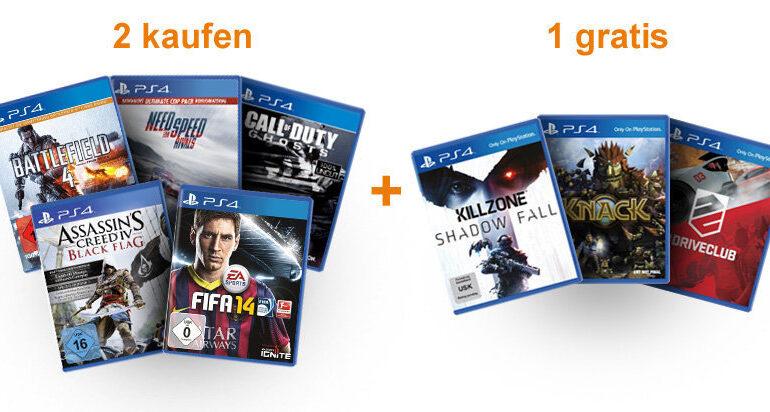 Amazon PS4 Aktion