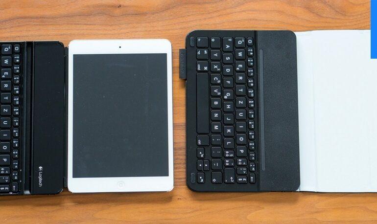 Logitech Ultrahin Keyboard Mini & Folio-1