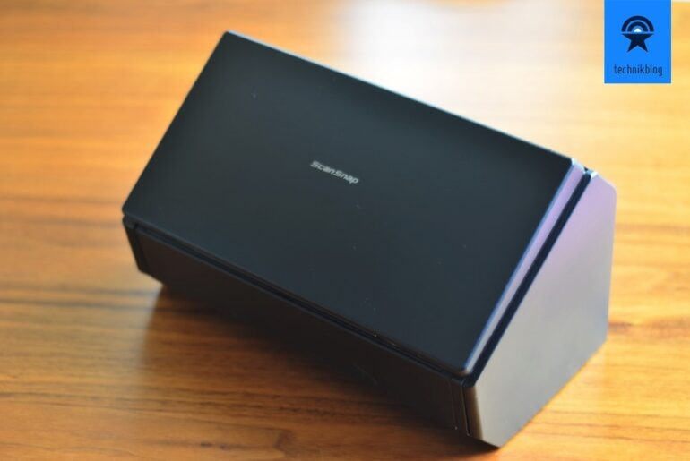 Fujitsu ScanSnap iX500 Review - 01