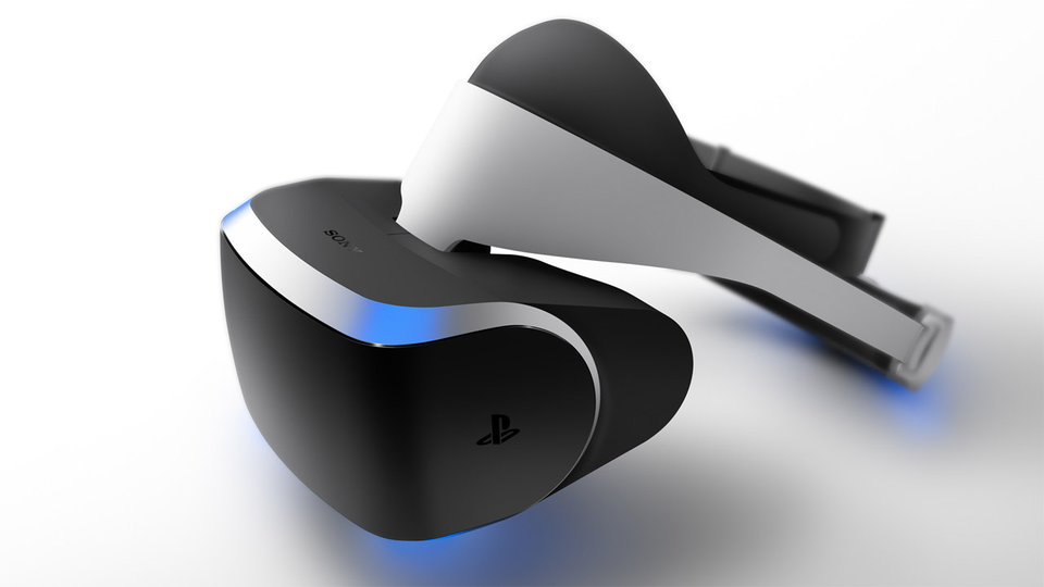 Virtual-Reality-Brille - Project Morpheus