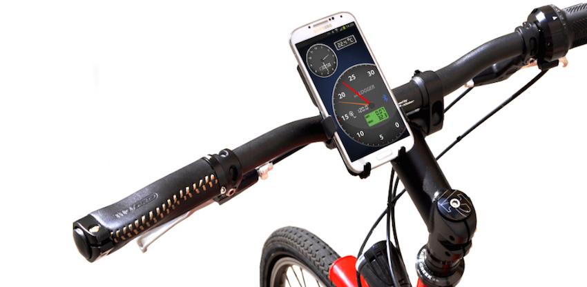 Bikelogger mit Android als Cockpit