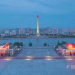 Timelapse aus Nordkoreas Hauptstadt Pjongjang