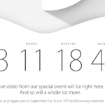 Apple Special Event vom 9.September 2014 als Livestream