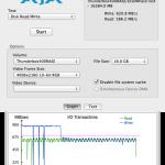 Speedmessung LMP Thunderbox 400 direkt mit 16GB File