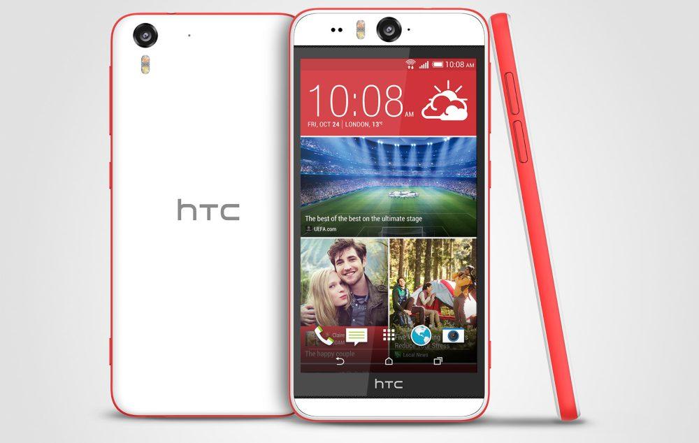 HTC Desire Eye Matt White Stack