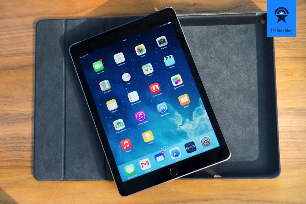 Apple iPad Air 2 mit dem Smart Case