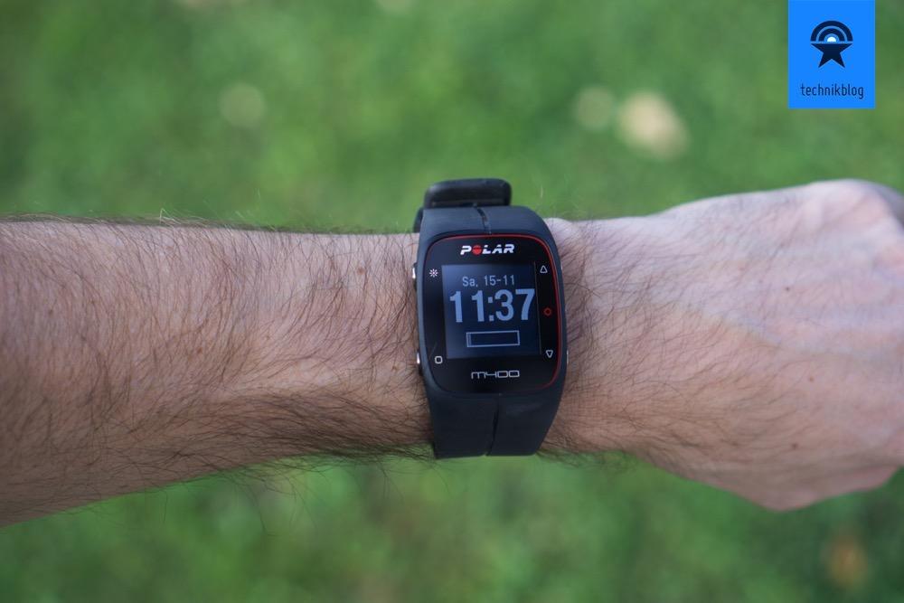 Polar M400 GPS Uhr Test