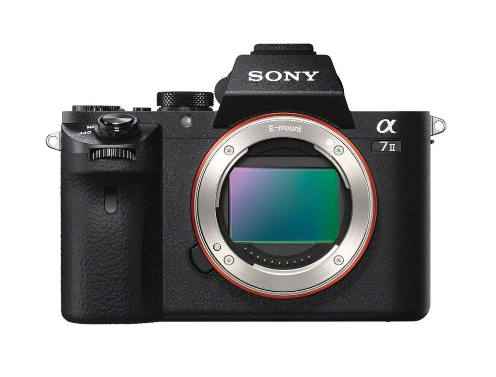 Sony A7 II Front