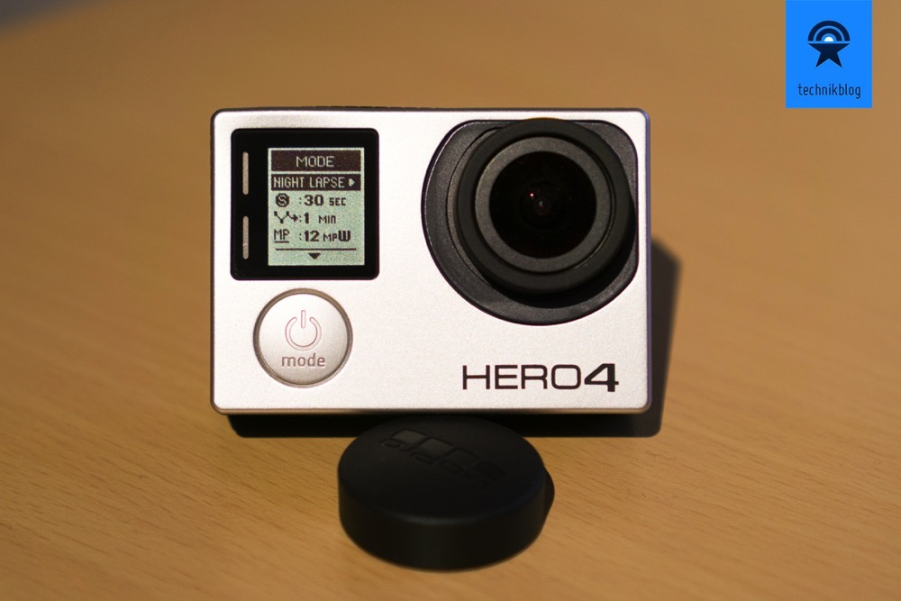 Neue Menüstruktur in der GoPro Hero4