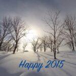 Frohes neues Jahr und ein kleiner Rückblick ins 2014