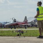 Drohne an der AIR14 in Payerne