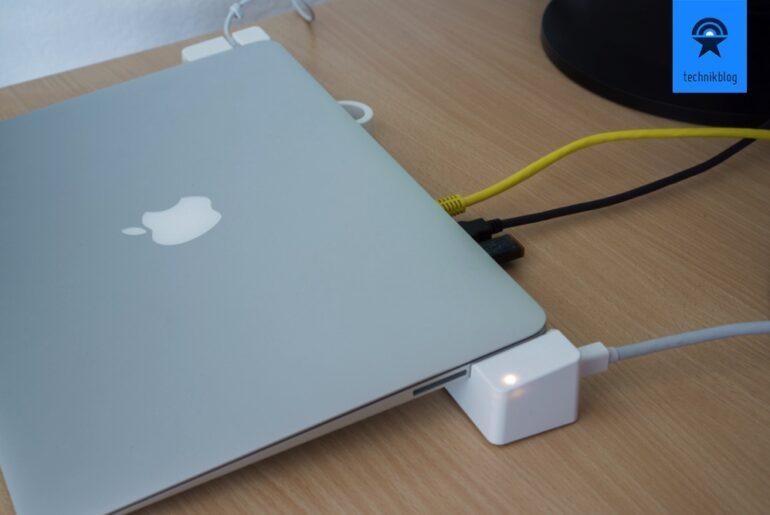 Landingzone Dock 2.0 pro für MacBook Air und Pro im Test