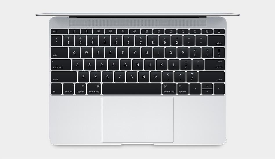 Neue Tastatur für das MacBook