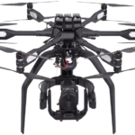 High-End Multicopter gepaart mit High-Speed 4K Kamera