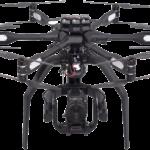 High-End Multicopter gepaart mit High-Speed 4K Kamera