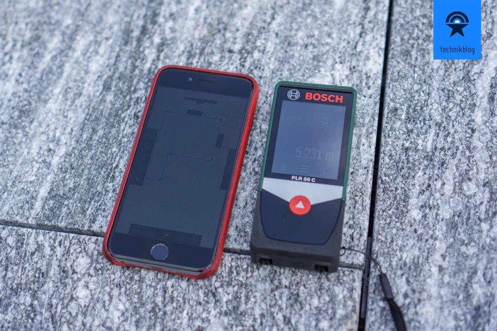 Bosch Entfernungsmesser Plr 30 C : Bosch plr c im test laser messgerät mit app anbindung