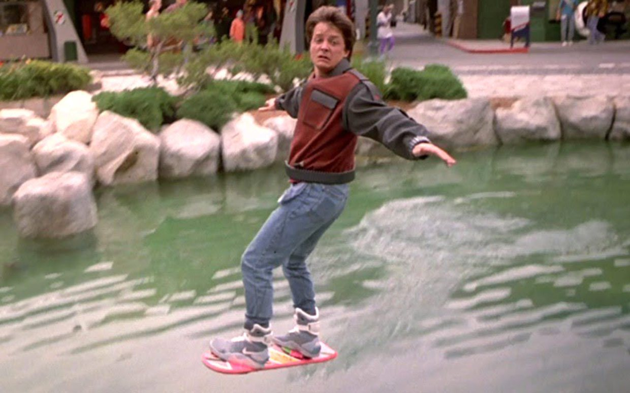 Hover Board Marty McFly