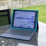 Logi BLOK - Schutzcase mit integrierter Tastatur für iPad