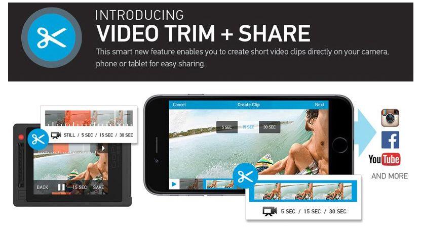 gopro app einfach videos schneiden und ver ffentlichen. Black Bedroom Furniture Sets. Home Design Ideas