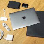 Apple MacBook 12″ Zubehör beim Reisen: Sleeve und USB-C Kabel