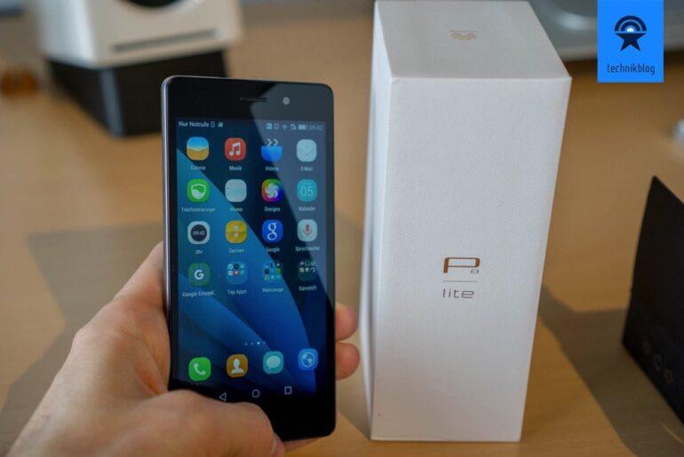 Huawei P8 Lite: Display ist gut, aber spiegelt leider etwas bei direkter Lichteinstrahlung