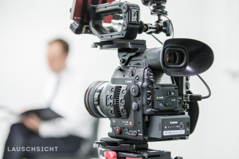 Canon EOS C300 Mark II Test