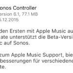 Apple Music auf Sonos