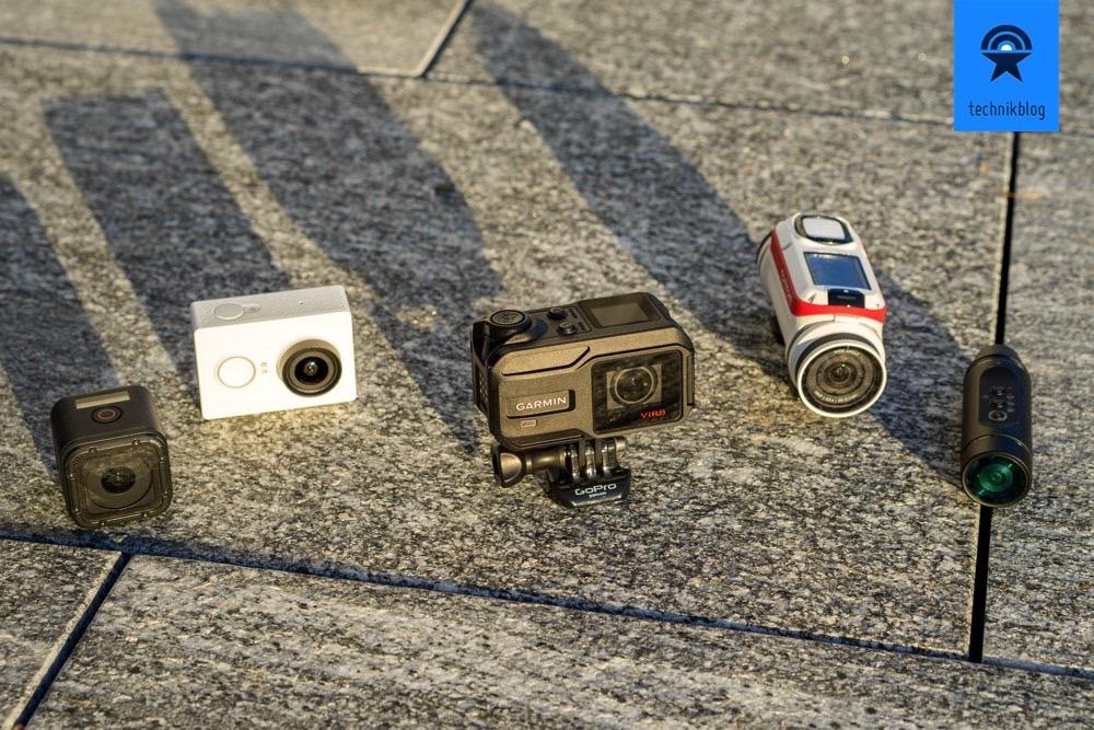 Actioncam Vergleichstest