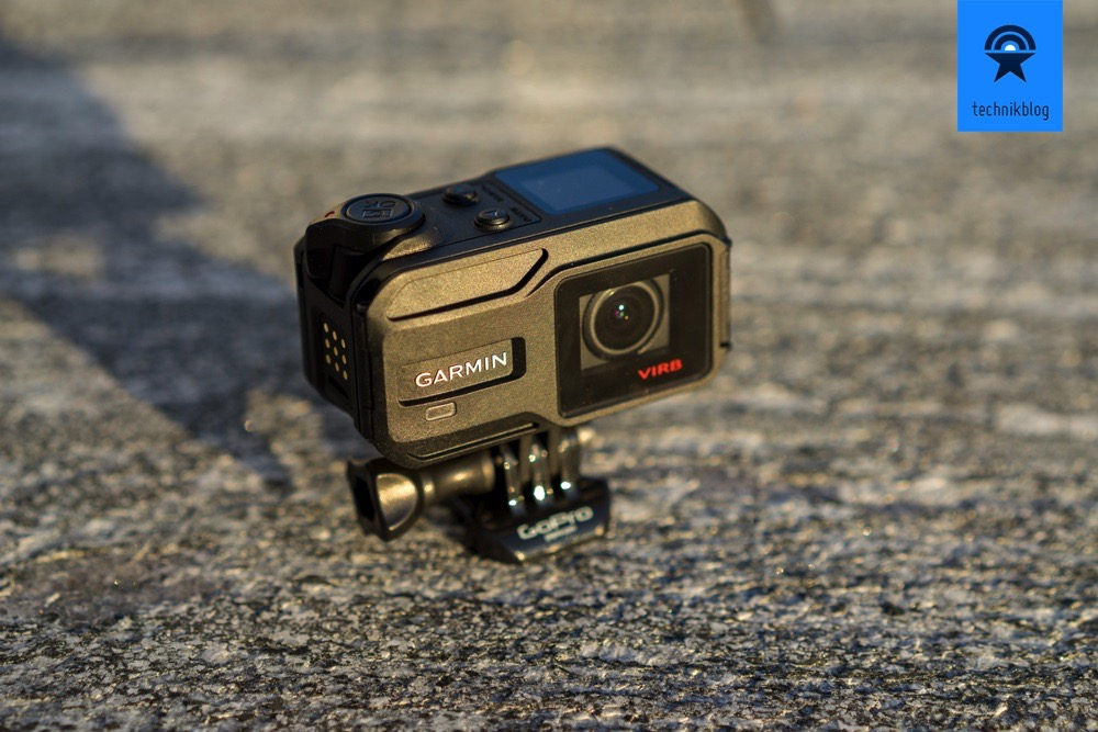 Die Garmin Virb XE überzeugte durch Zusatzfeatures wie GPS und Dateneinblendung im Video.