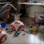 BB-8 Droide aus Star Wars VII in voller Grösse selbst gebaut