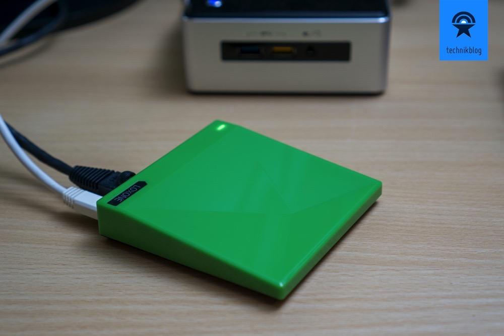 Loxone Projekt im Technikblog: Loxone Miniserver Go