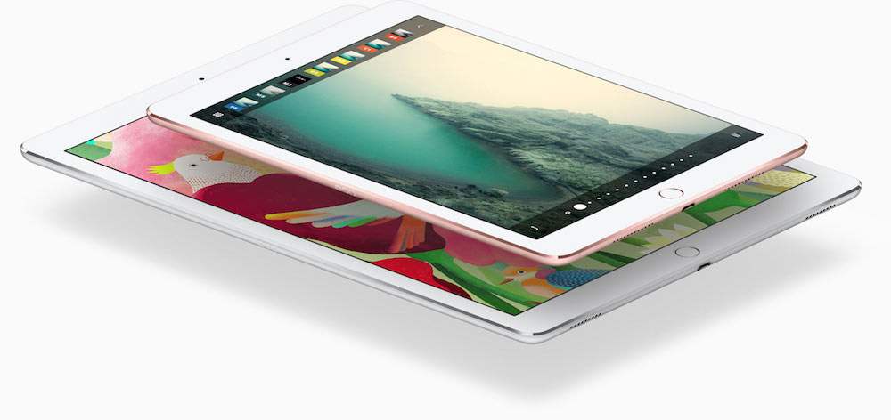 """Das Apple iPad Pro 12.9"""" und das neue mit 9.7"""" Bildschirm-Diagonale"""