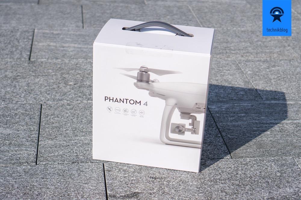 DJI Phantom 4 Verpackung