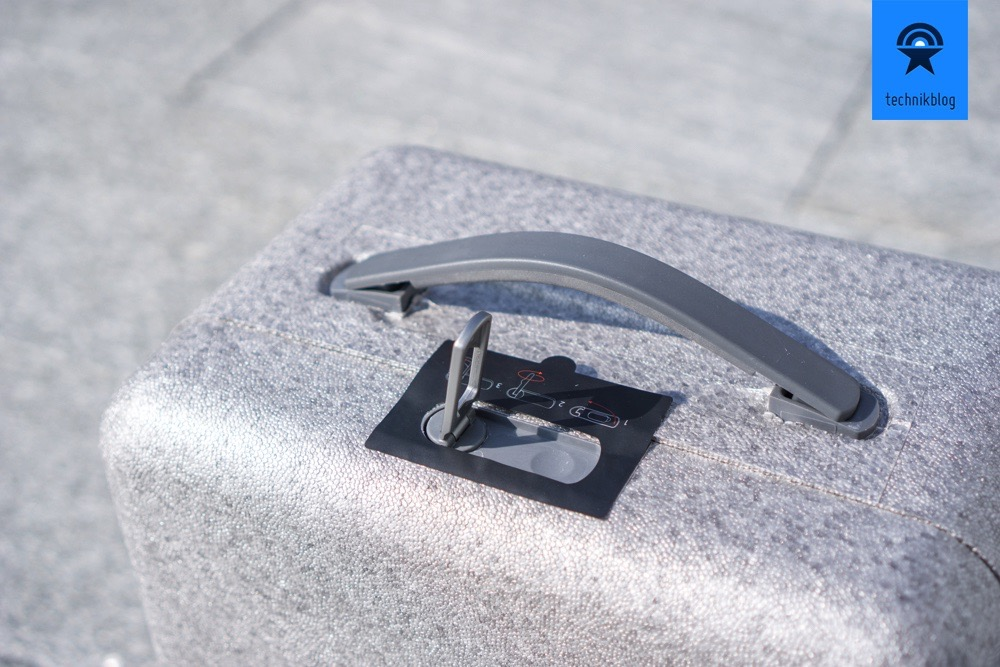 Phantom 4 Koffer mit gutem Verschluss