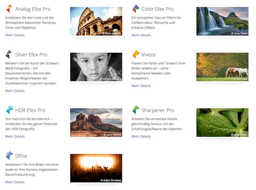 Google Nik Collection Plugins