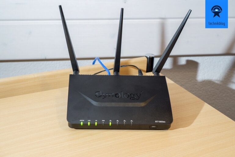 Synology Router RT1900ac Test
