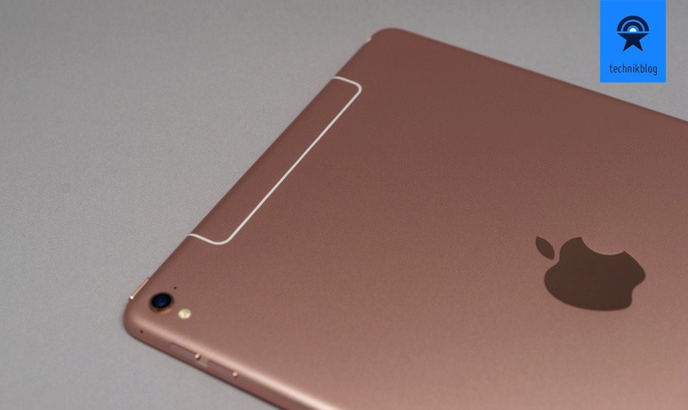 "Apple iPad Pro 9,7"" Cellular + Wi-Fi Version in roségold"