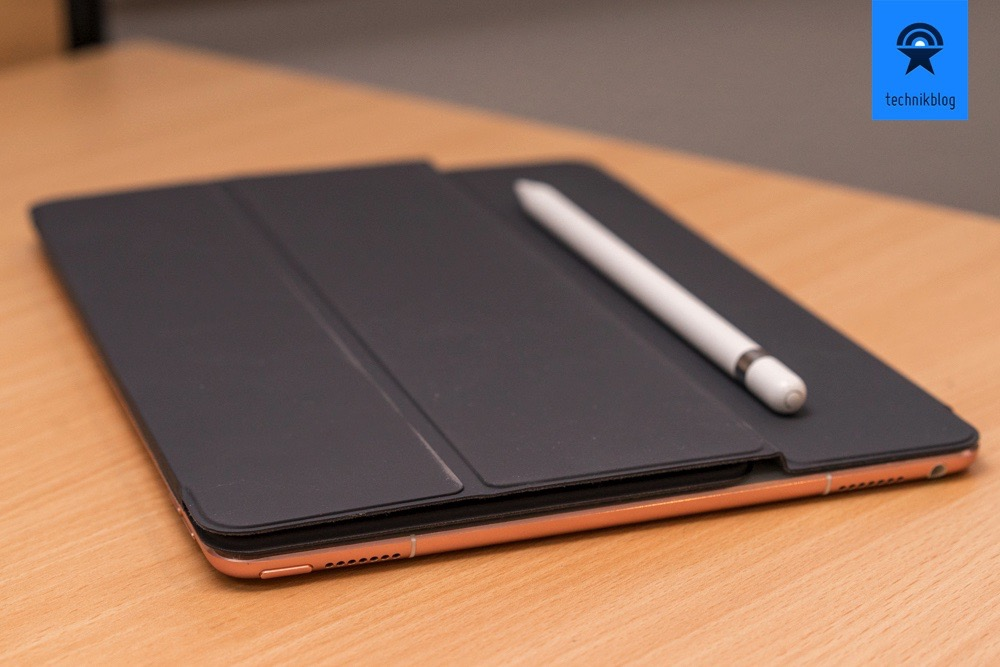 Apple iPad Pro 9,7 mit dem Smart Keyboard und dem Apple Pencil