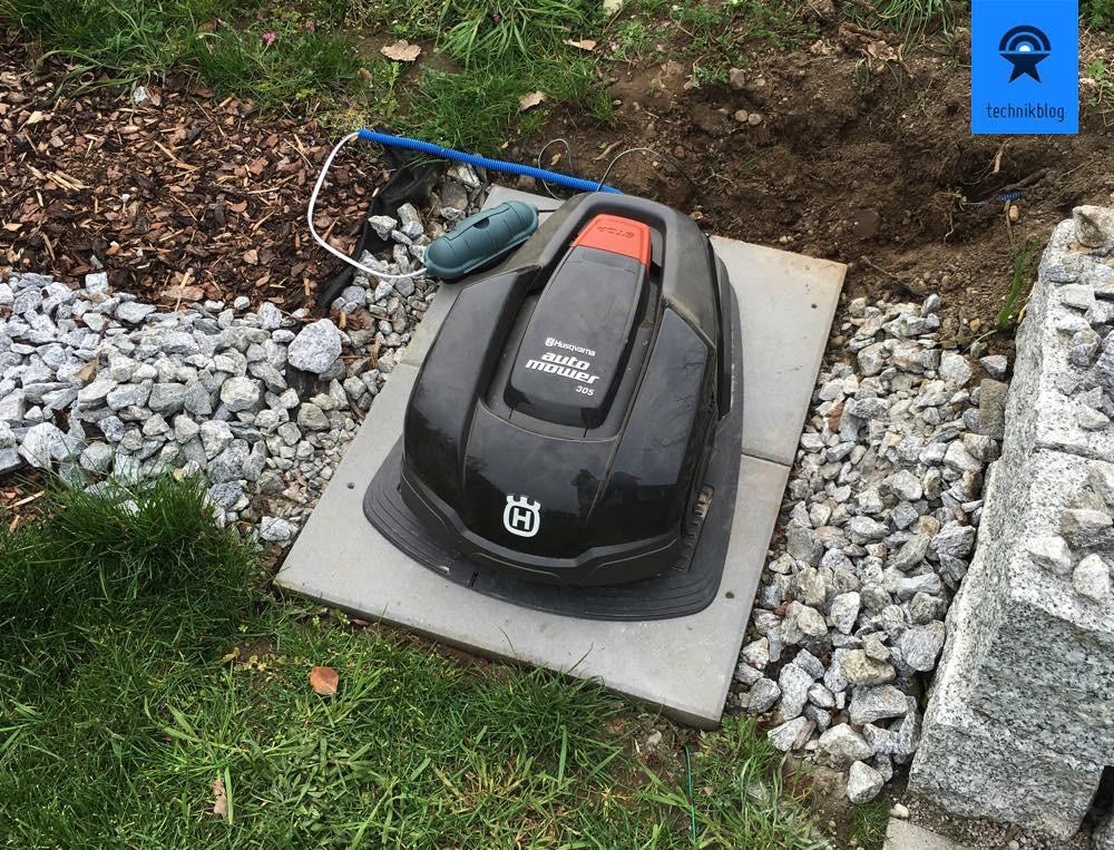 Husqvarna Automower - neues daheim