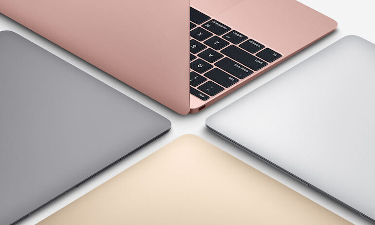 Neue Apple MacBook Farben