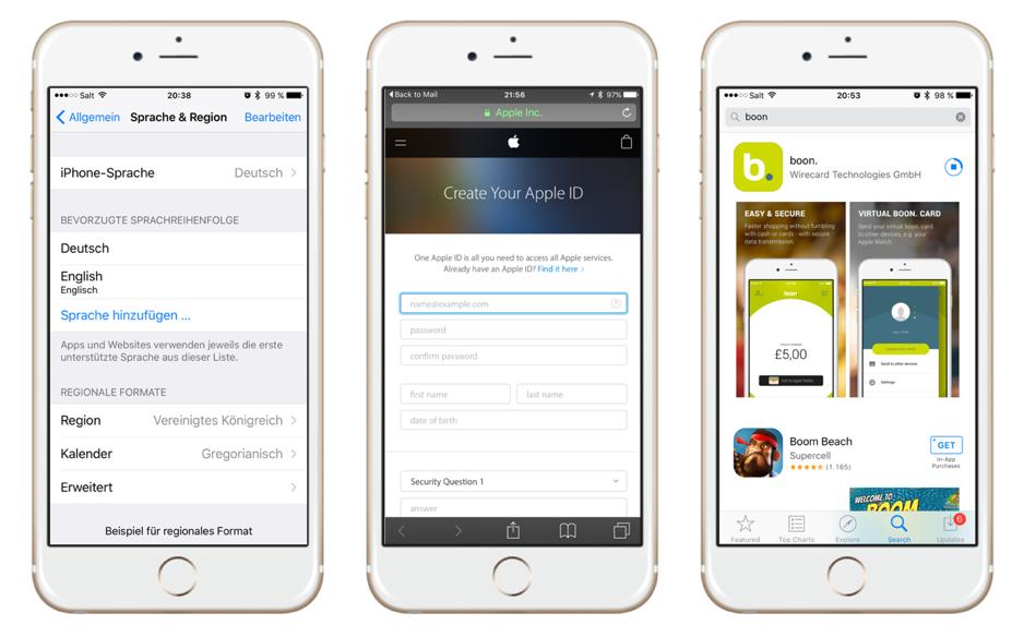 Apple Pay in der Schweiz nutzen - Workaround 1